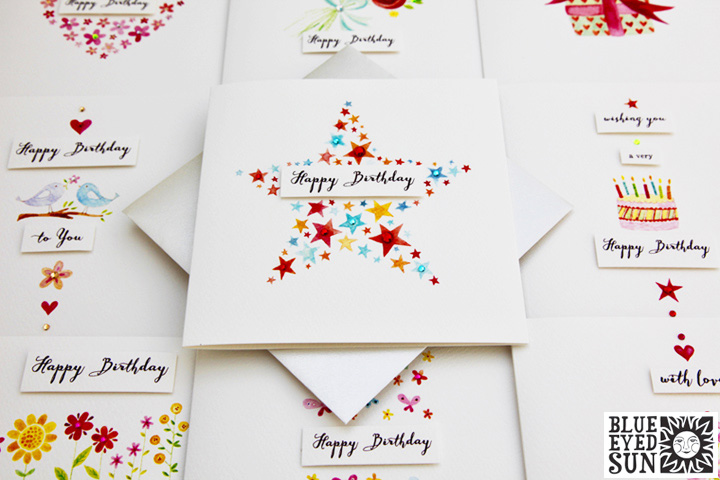 Charming card range from Blue Eyed Sun