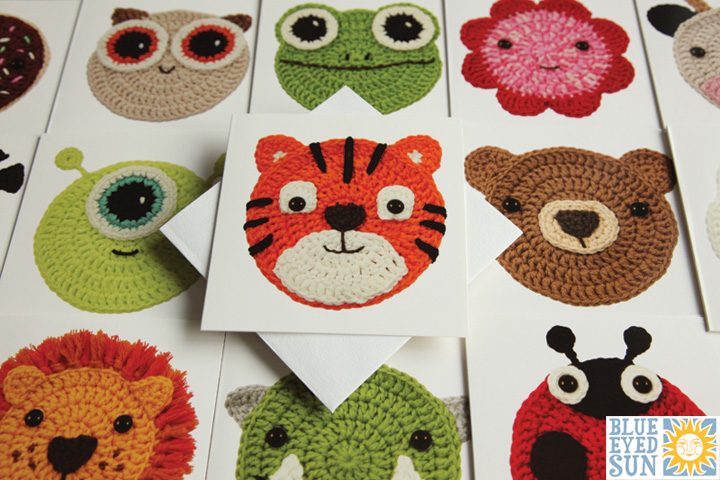 Crochet Critters Greeting Cards