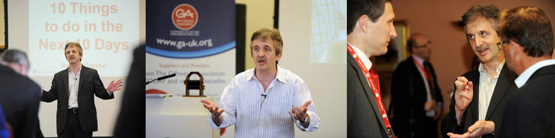 Business Guru Robert Craven Speaking At The GA Members Day 2012