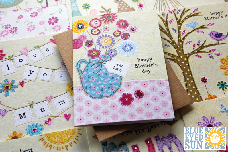 Picnic Time Mother's Day cards by Blue Eyed Sun