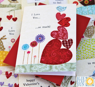 New Valentines Cards for 2015 from Blue Eyed Sun BES Blog – Valentine Card 2015