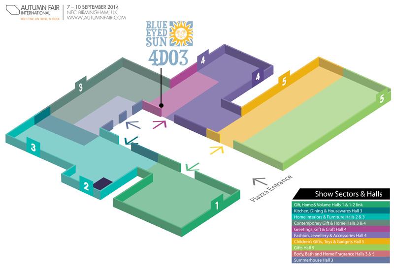 Autumn Fair 2014 Floor Plan