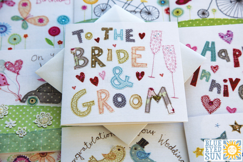 New Vintage greeting cards from Blue Eyed Sun