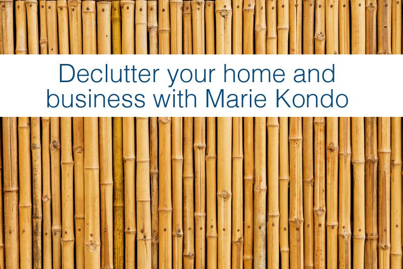 Decluttering with Marie Kondo