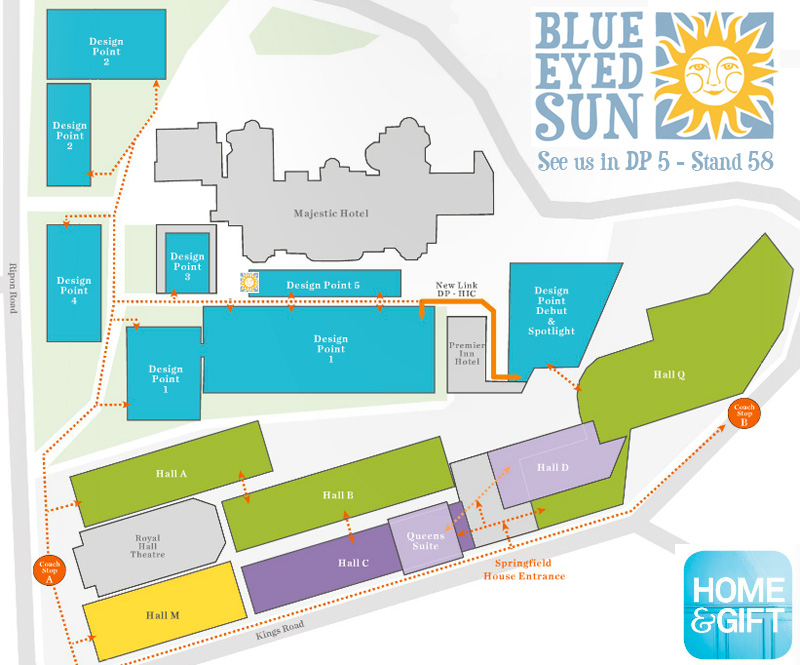 Home And Gift 2015 Show Map