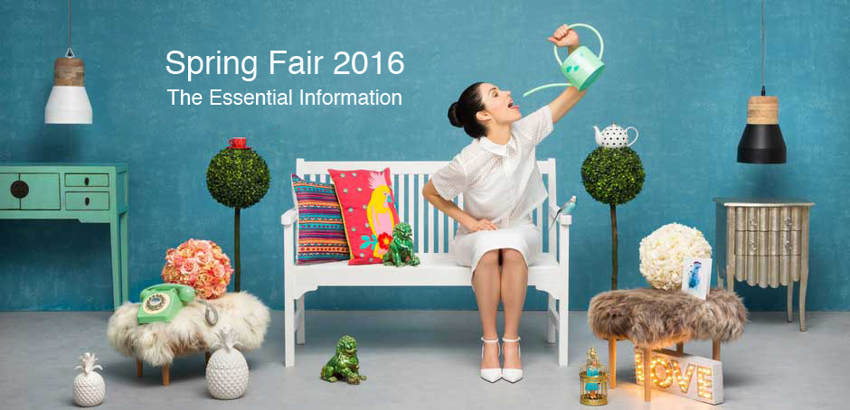 Spring Fair 2016 - The Essential Info