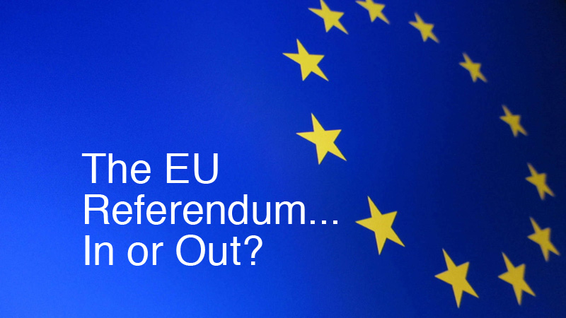 EU Referendum - In Or Out