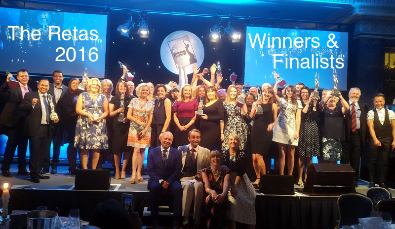 The Retas 2016 - Winners and Finalists