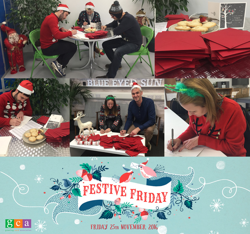 Festive Friday 2016 at Blue Eyed Sun