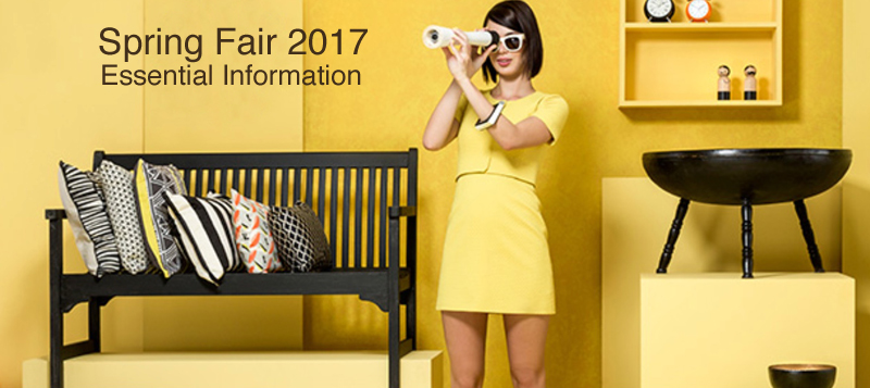 Spring Fair 2017 - Essential Info