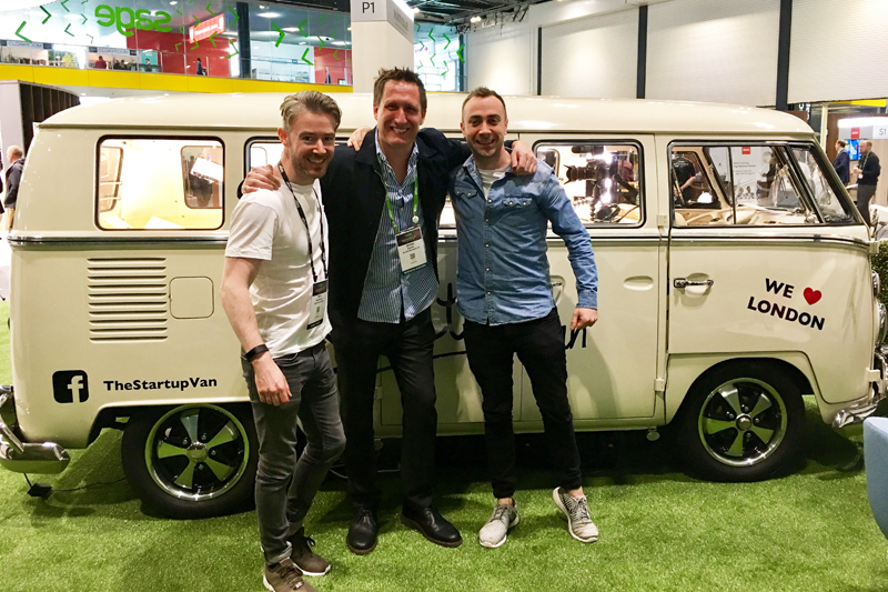 StartUp Van Sage Summit London 2017
