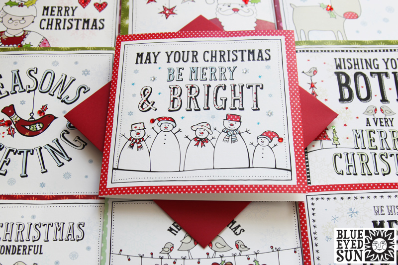 Tinsel Town Christmas cards from Blue Eyed Sun