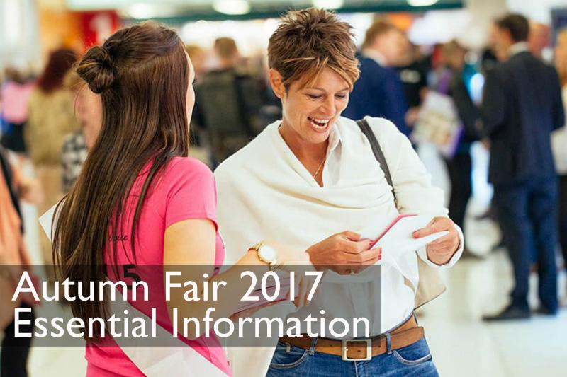 Autumn Fair 2017 Essentials