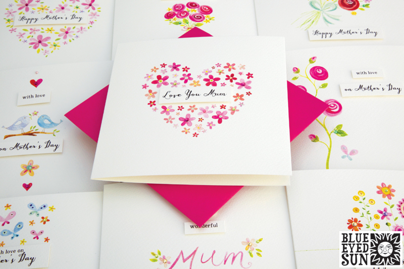 Charming Mother's Day greeting cards