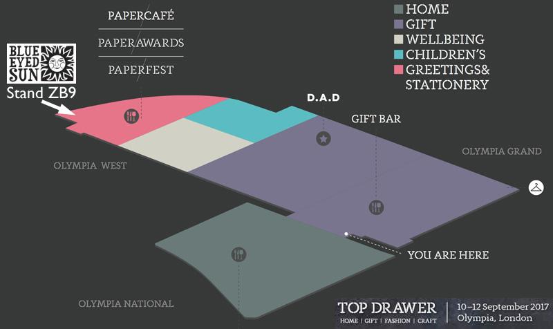 Top Drawer Autumn 2017 - Floor Plan