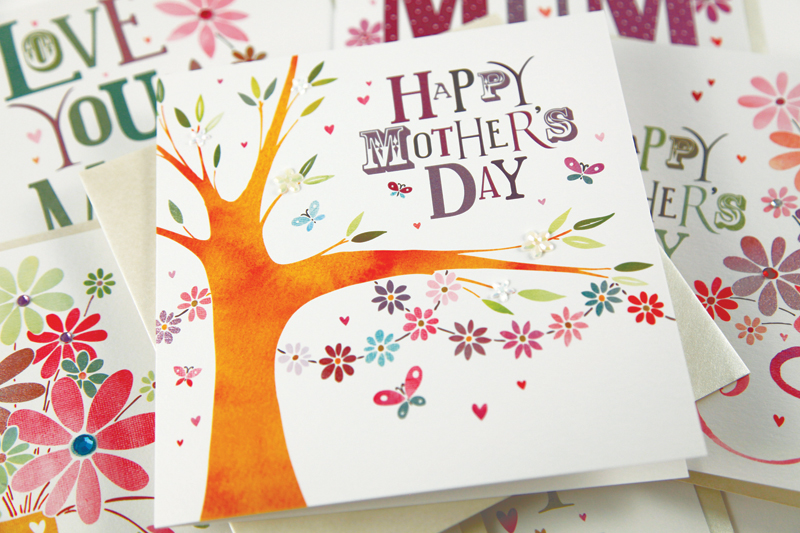 Jingles Mother's Day Greetings Cards