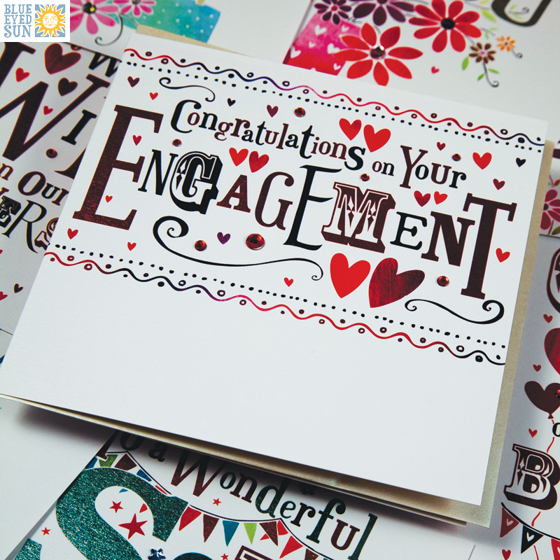 Blue Eyed Sun - Jingles - Engagement Card