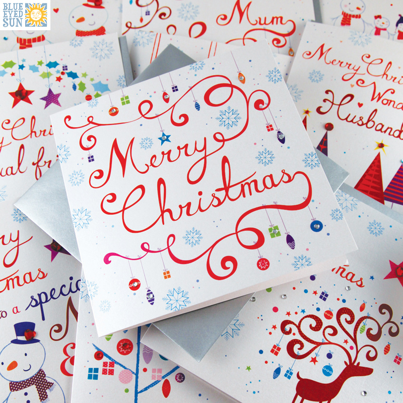 Blue Eyed Sun - Snowflakes - Christmas Cards