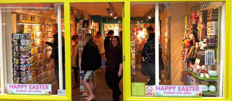 Scribbler Cards opens in Brighton