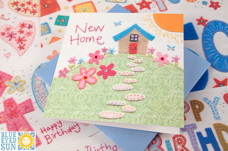 Gorgeous New Home card from Blue Eyed Sun