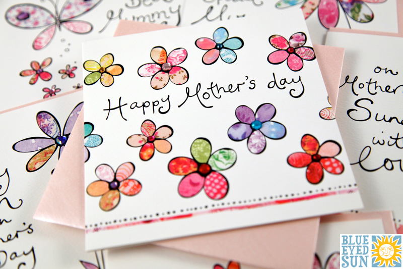 Sunshine Mother's Day cards by Blue Eyed Sun
