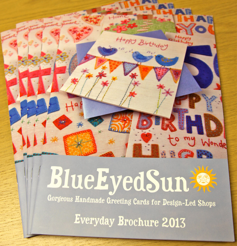 Blue Eyed Sun's new Everyday Brochure for 2013