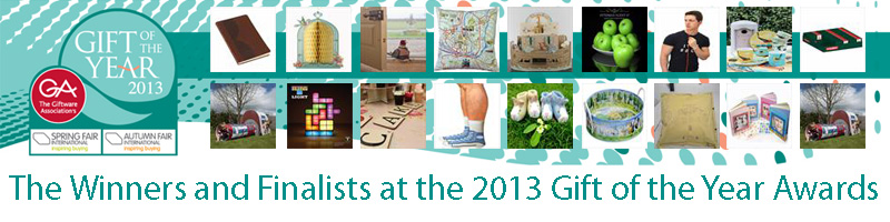 Gift of the Year 2013 Winners and Finalists List