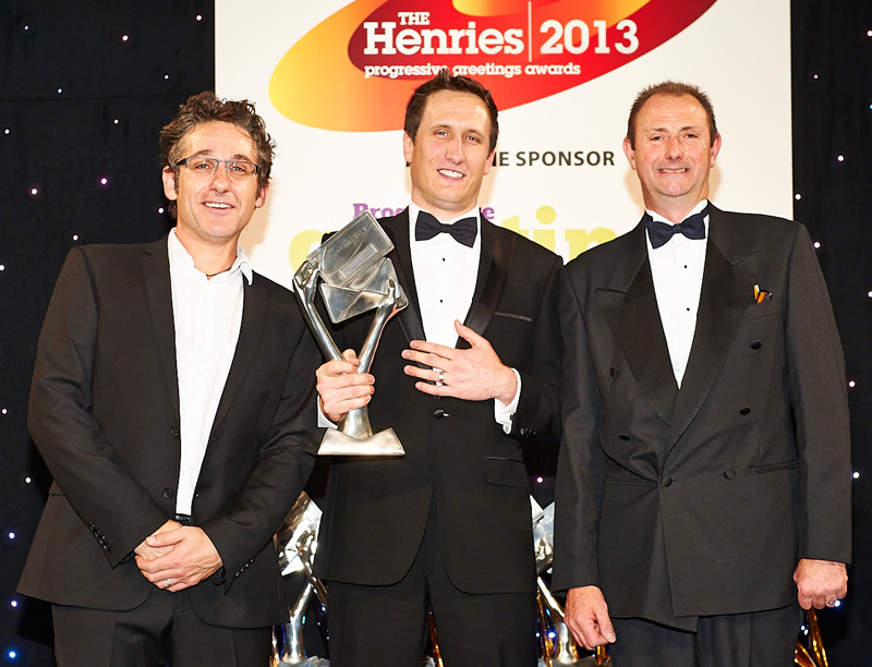 Jeremy Corner at The Henries Awards 2013