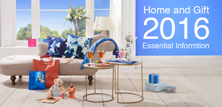 Home And Gift 2016 - Essential Info