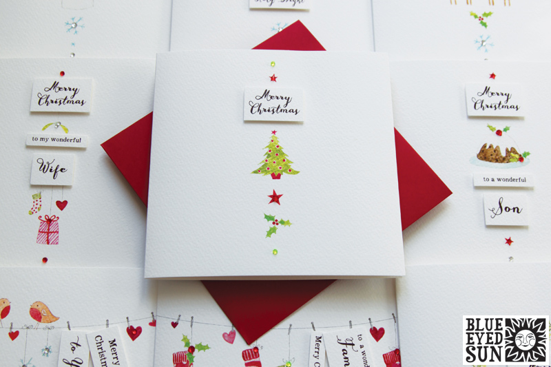 Charming Christmas cards from Blue Eyed Sun