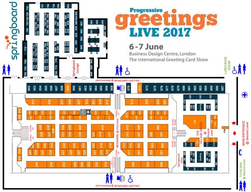 PGLive 2017 - Floor Plan