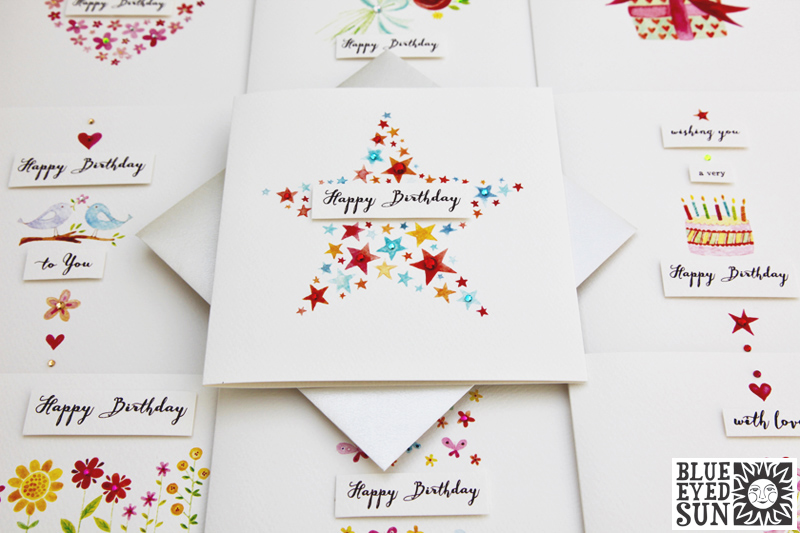 Charming cards from Blue Eyed Sun