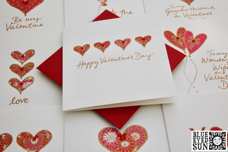 Treasure Valentines Cards from Blue Eyed Sun
