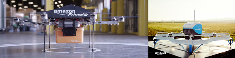 Amazon Drone Retail Technology