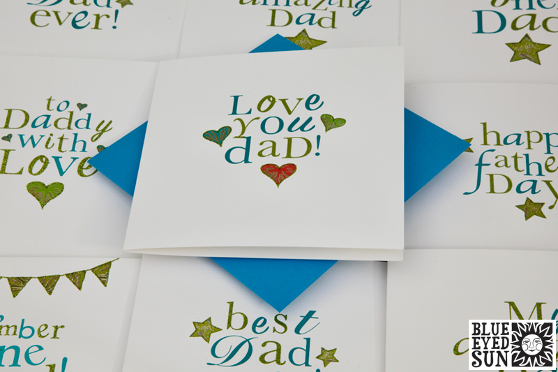 Treasure Fathers Day Cards from Blue Eyed Sun