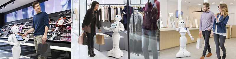 Pepper Robot Retail Technology