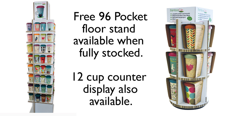 Bamboo Cup - Floor Stand