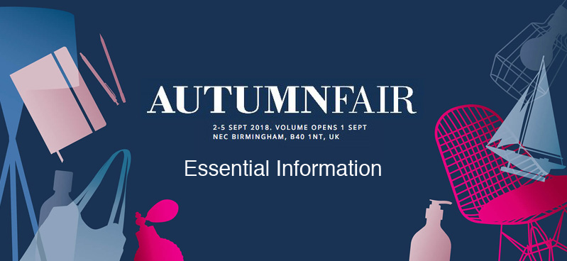 Autumn Fair 2018 - Essential Info