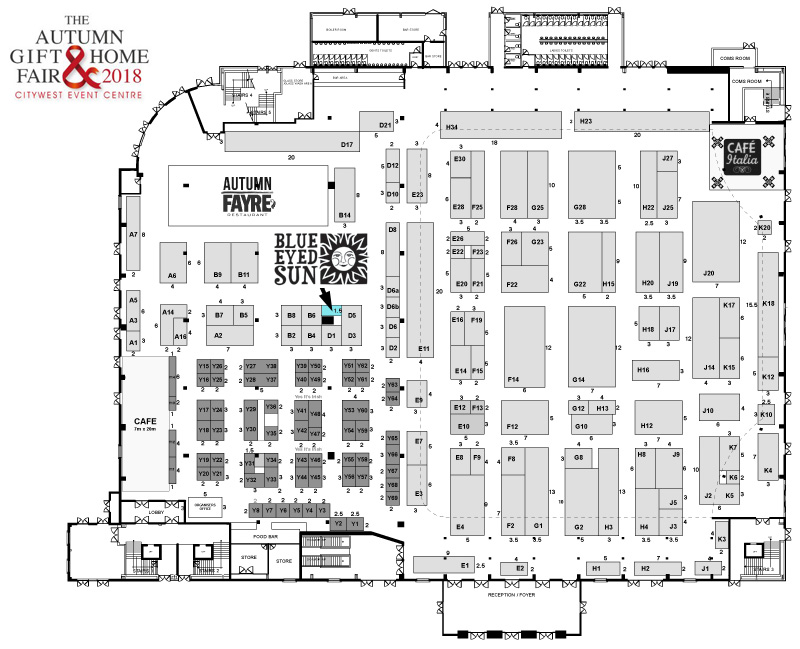 Autumn Gift and Home Fair 2018 FloorPlan
