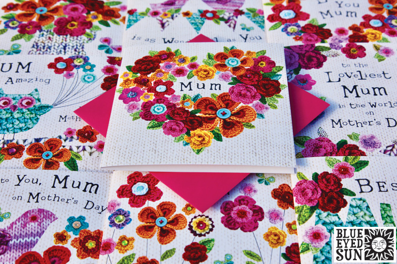 Crochet Garden card range by Blue Eyed Sun