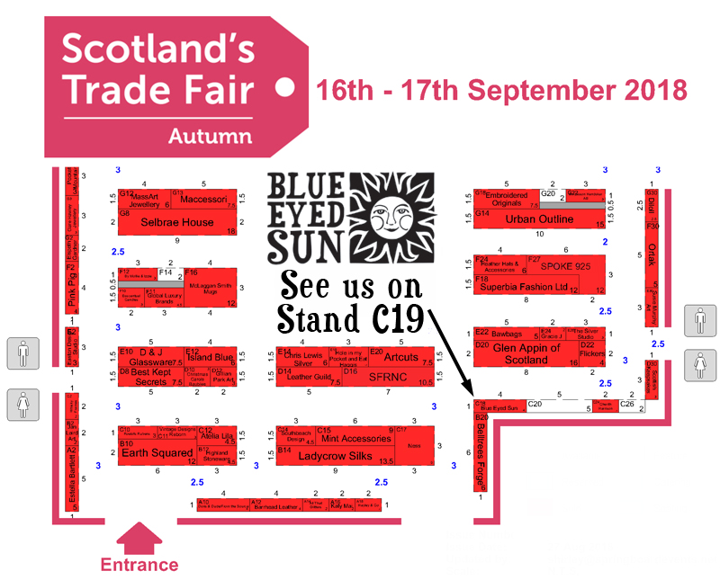 Scotland's Trade Fair Autumn 2018 - Show Map
