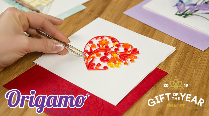 Gift of the Year - Origamo Quilling Cards