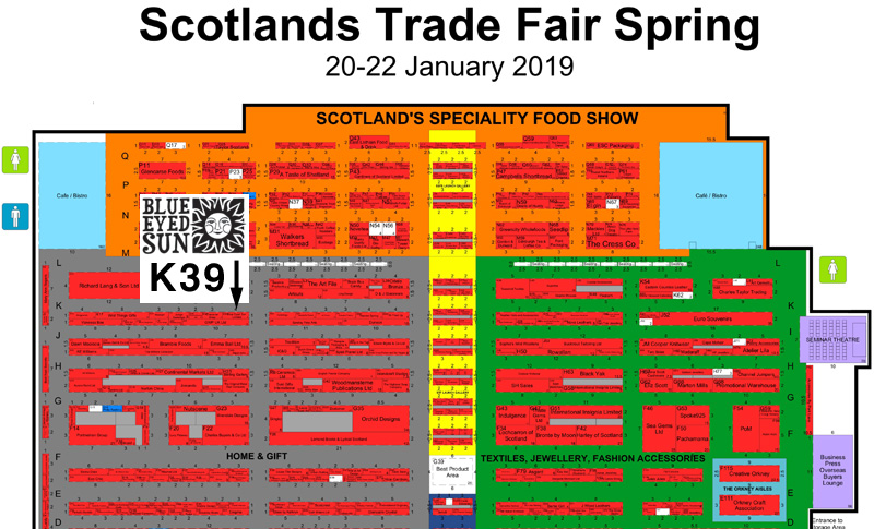 Scotlands Trade Fair Spring 2019 - Floor Plan