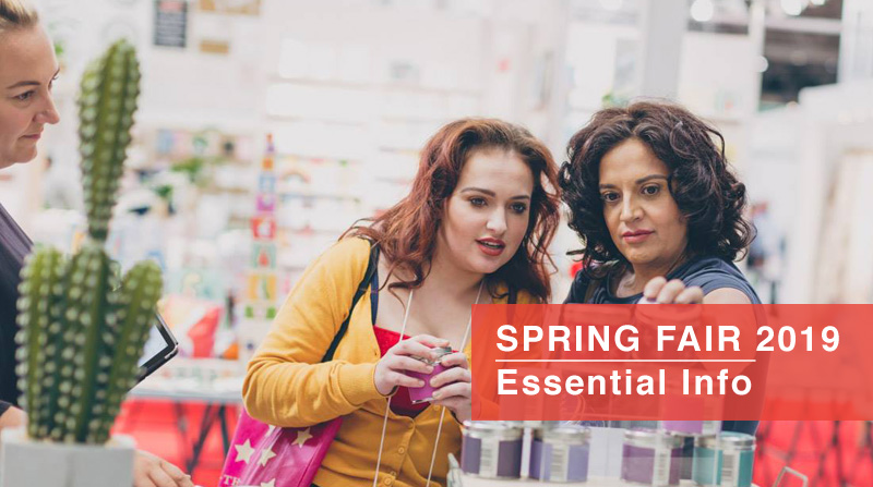 Spring Fair 2019 - Essential Info