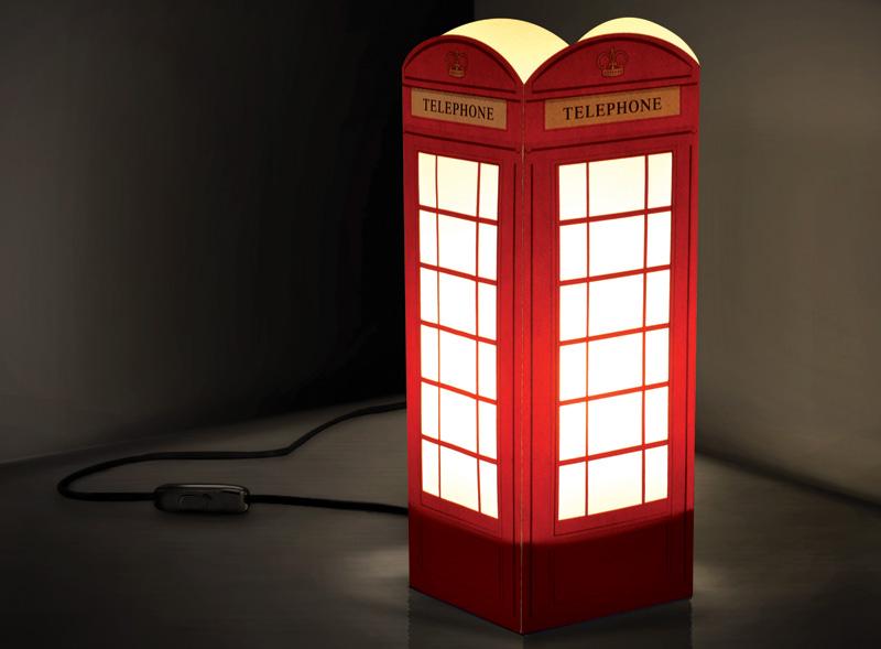 W-Lamp Phone Box
